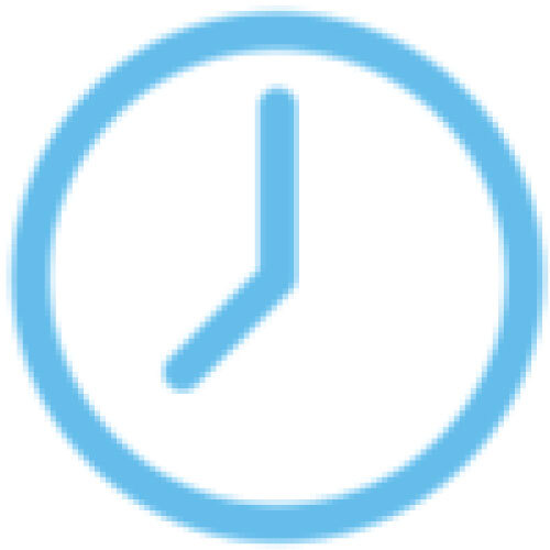 simple cartoon clock